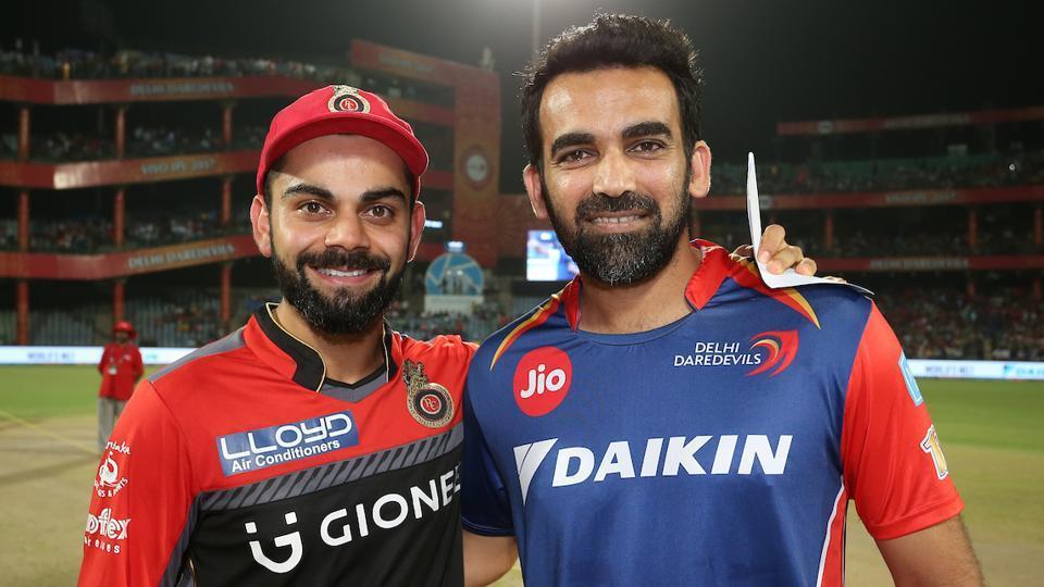 IPL 2017 : DD vs RCB :RCB  win toss,opt to bat