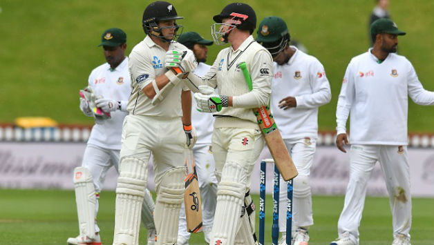 New Zealand thrash Bangladesh by 7 wickets in 1st Test match