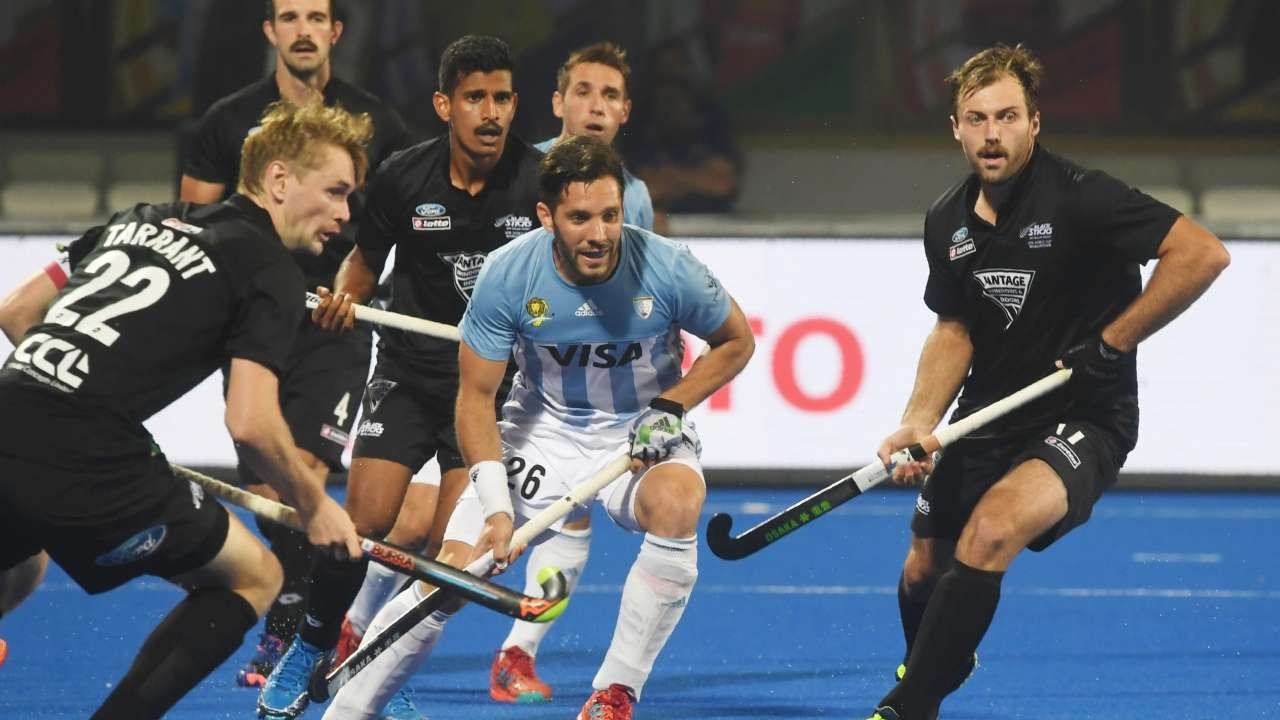 Hockey World Cup: Argentina beat New Zealand 3-0