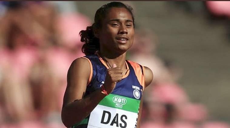 Hima Das win gold at IAAF World U-20 Athletics Championships