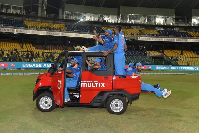 India give Sri Lanka