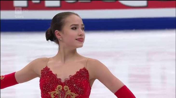 Record-breaker Zagitova stuns Medvedeva in Olympic short programme
