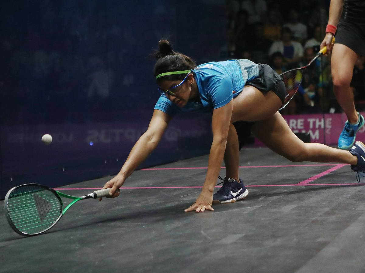 Black Ball Squash Open: Joshna storms into quarters