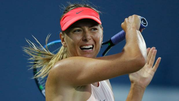Sharapova beat Halep in the first round of US Open