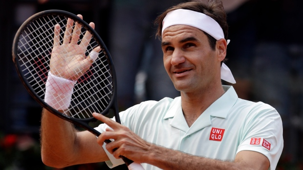 Nadal, Federer enter in Pre-Quarterfinal of Italian Open tournament