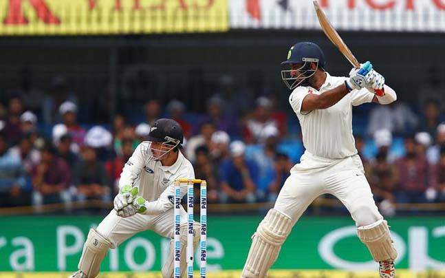 India reach 127 for two at lunch against NZ on Day 4