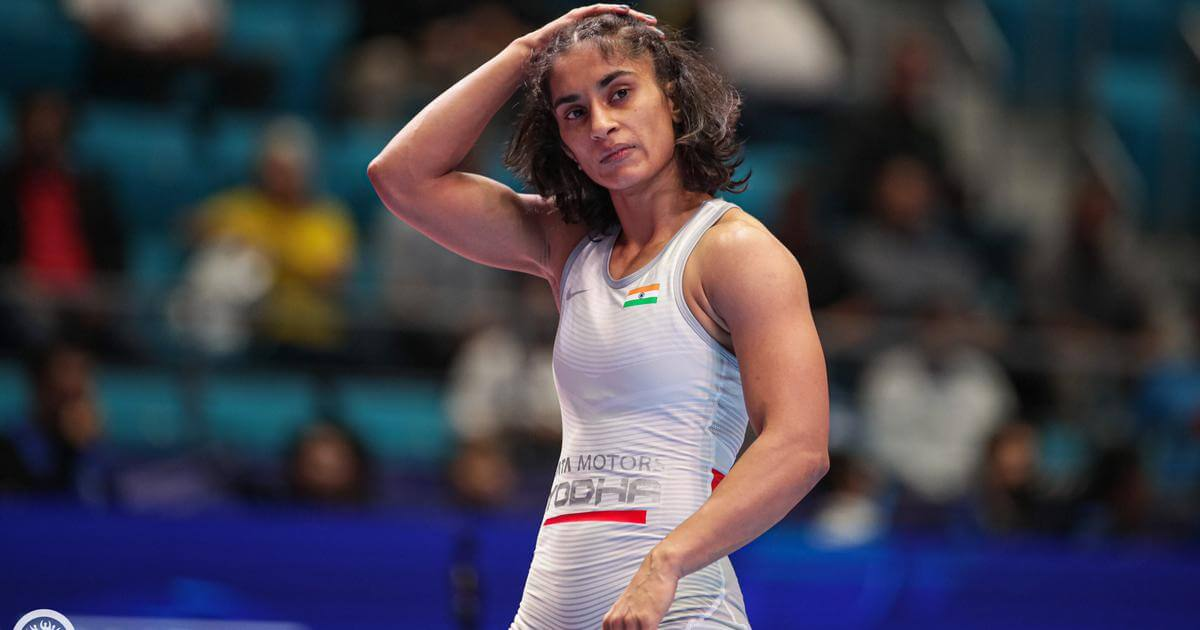 Vinesh Phogat bags gold in Ukraine wrestling event