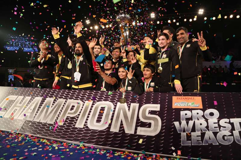 Punjab Royals crowned champions of Pro Wrestling League Season 2