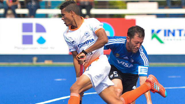 Sultan Azlan Shah Cup 2018 : Argentina beat India 3-2 in opening match