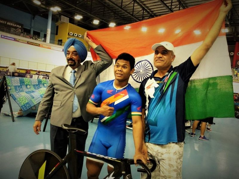Teen cyclist Esow Alben creates history by claiming India