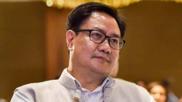 Sports Minister Kiren Rijiju tests COVID-19 positive
