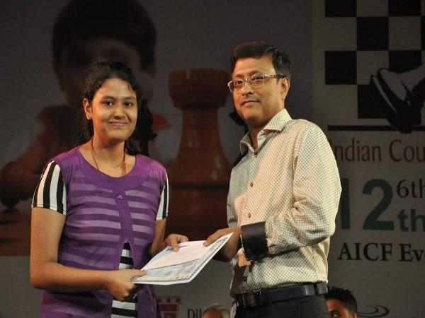 Under 20 category chess gold medalist  Arpita Mukherjee laments for not becoming International Master