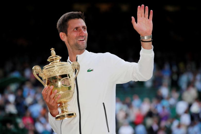 Djokovic beat Federer to win fifth Wimbledon title