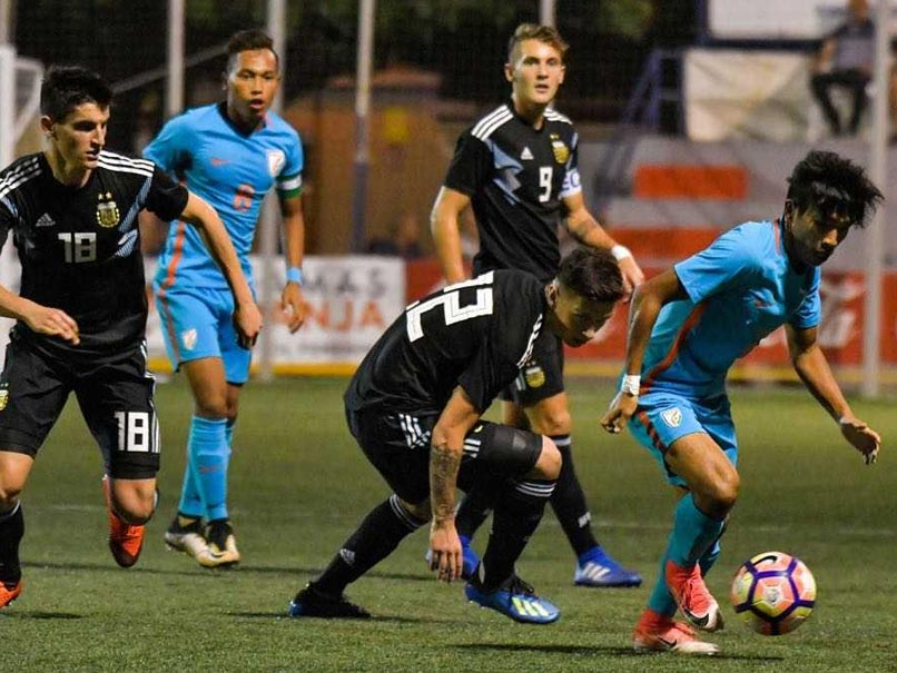 Indian U-20 football team defeat Argentina in Cotif Cup in Spain