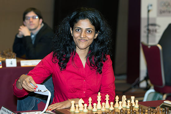 Grandmaster D.Harika created history in World Women