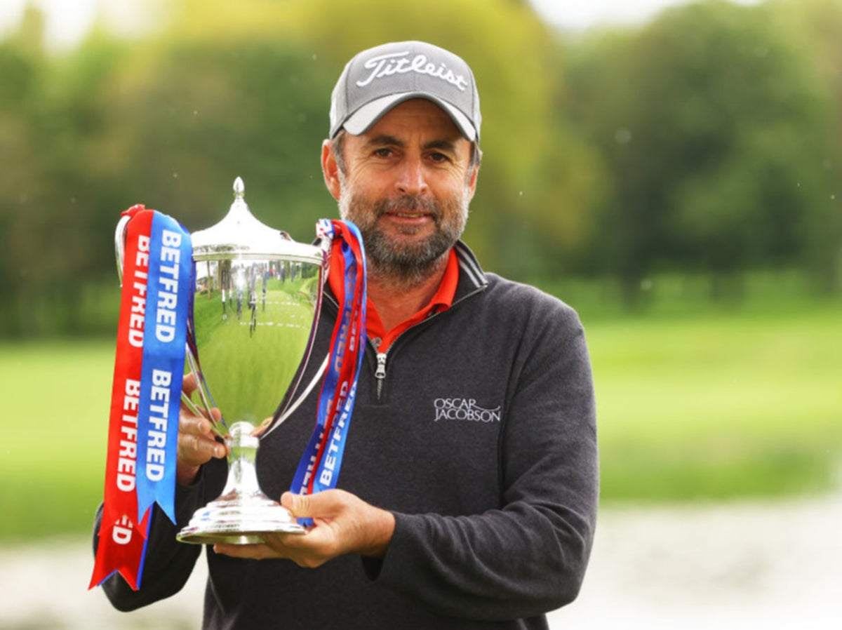 Richard Bland wins British Masters golf title