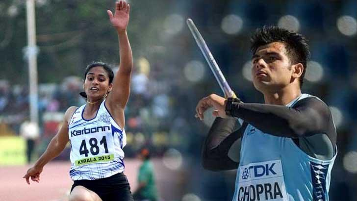 Athletes Varakil, Neeraj shine at Asian Grand Prix