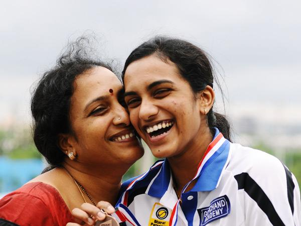 Sindhu Become The World Champion , And Dedicated Win For Her Mother.