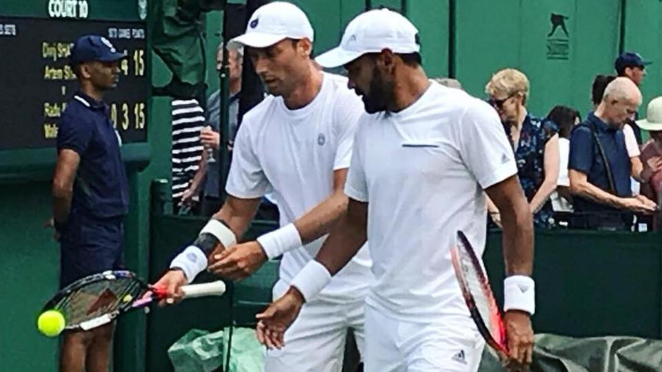 Divij Sharan & Artem Sitak reach quarterfinals of Wimbledon Tennis