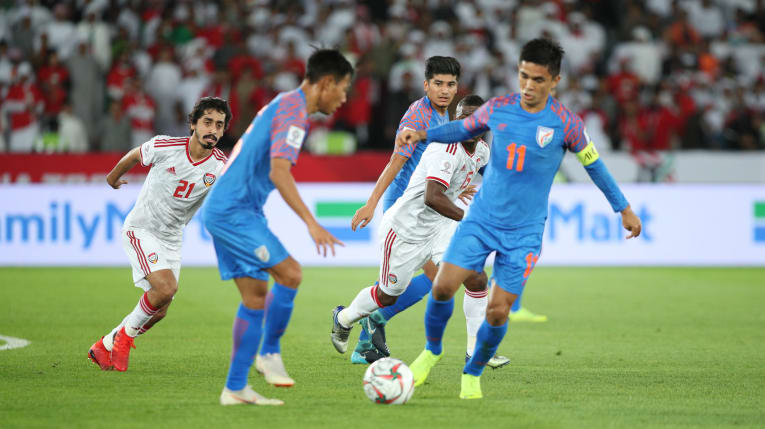 UAE beat India 2-0 in Asian Cup