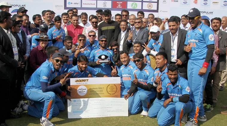 India beat Pakistan by 9 wickets to win T20 Blind World Cup 2017