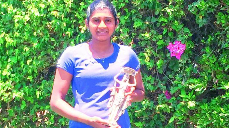 Hyderabadi player Yadlipalli Pranjala wins maiden ITF title in Egypt