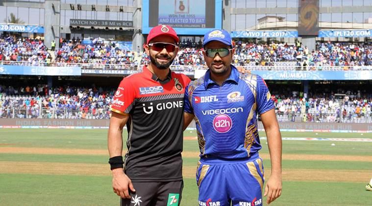 IPL 2017: Match 38:MI vs RCB : Bangalore win toss and decide to bat first