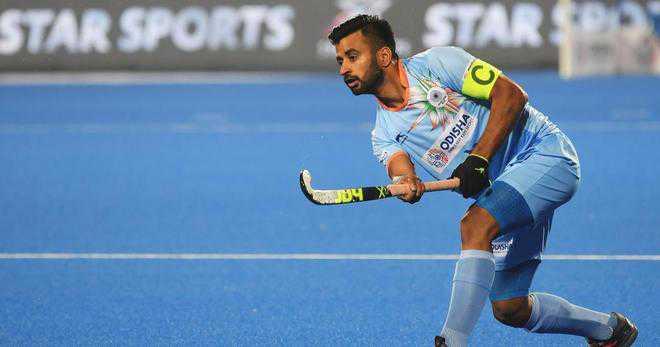 Manpreet Singh honoured with AHF