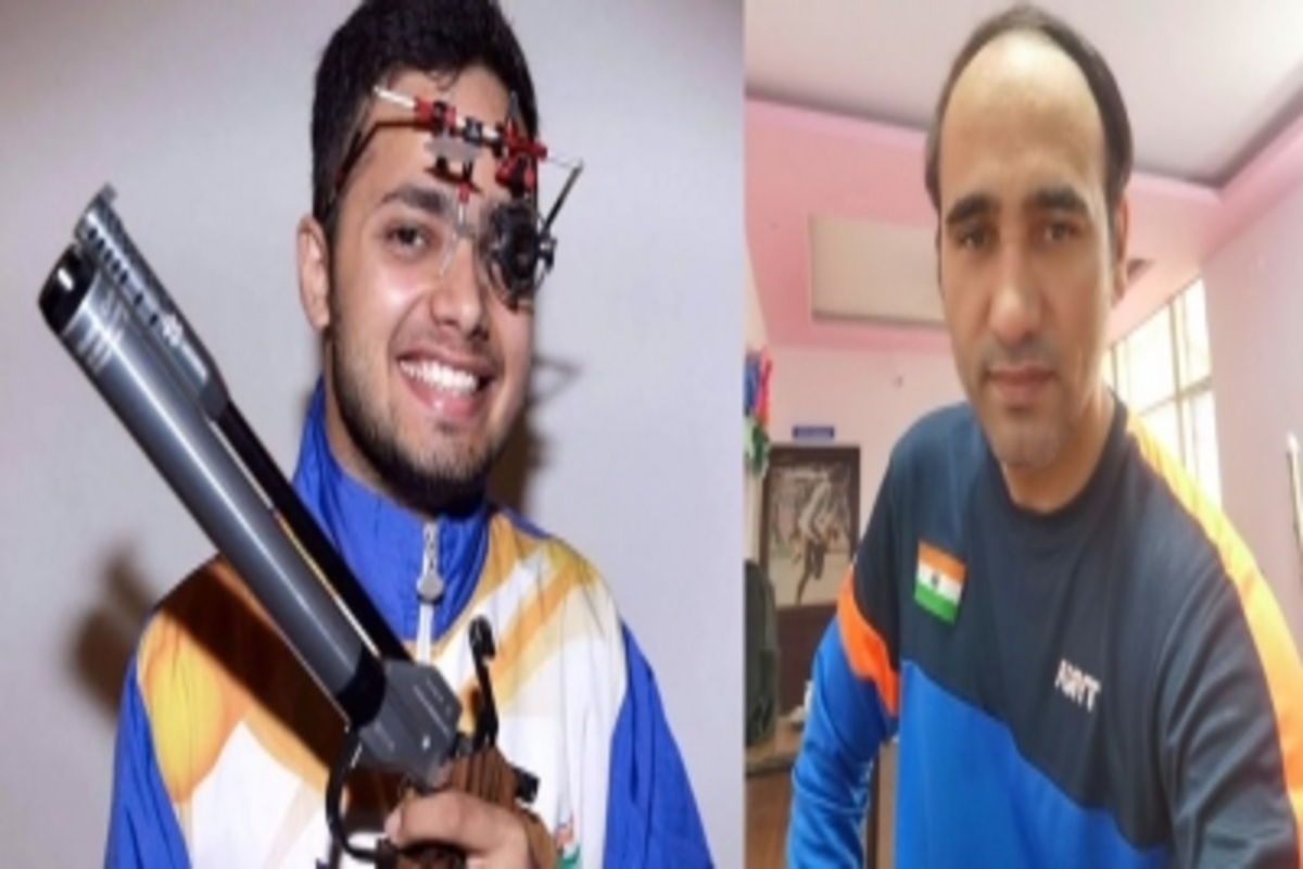 tokyoparalympic:narwalsinghrajclaimgoldsilverforindia