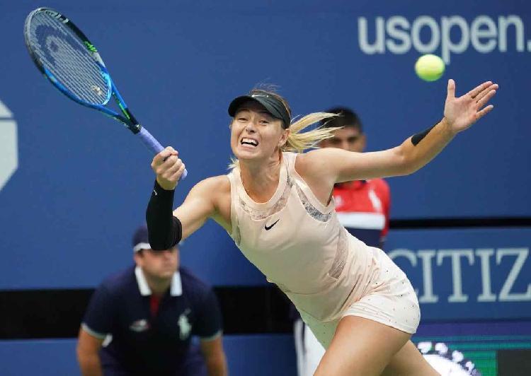 Sharapova battles on while Zverev, Kyrgios crash at US Open