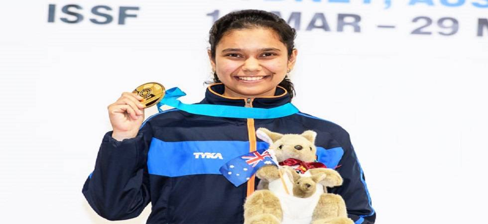 Muskan Bhanwala wins gold in ISSF Junior World Cup