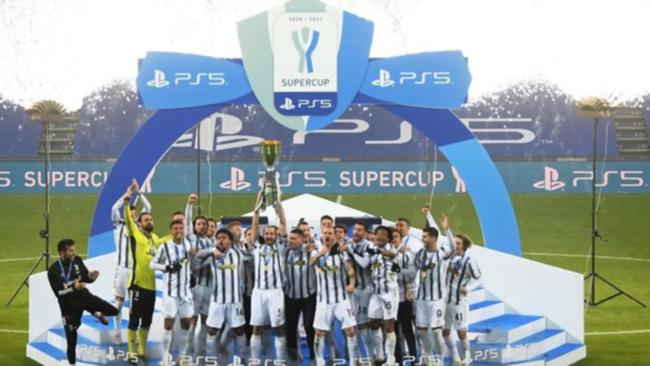 Juventus win 9th Italian Super Cup