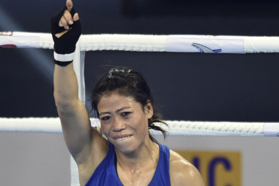 MC Mary Kom reaches semi-finals after defeating Italian Giordana Sorrentino
