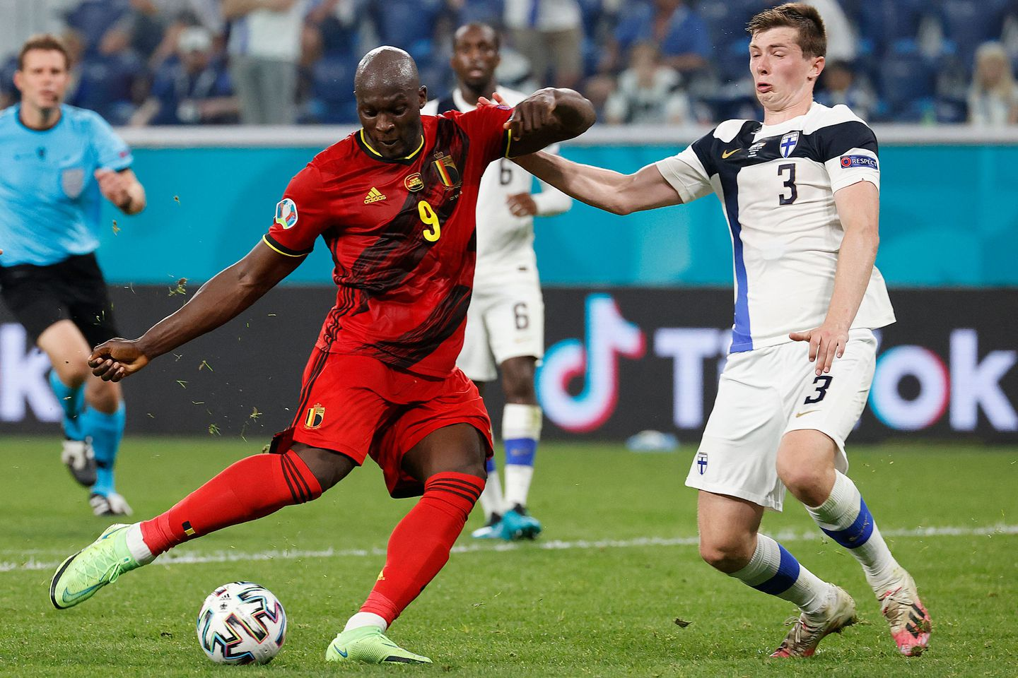 Belgium knock out Finland in the Euro 2020