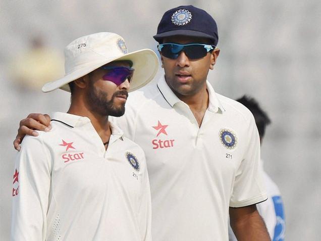 Ashwin, Jadeja reach top two spots in ICC Test bowling chart