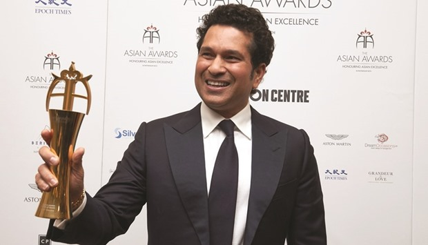 Sachin receives Asian Awards Fellowship