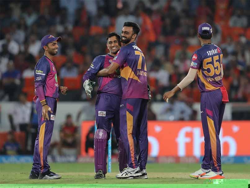 IPL 2017 : SRH  vs RPS : Pune beat Sunrisers Hyderabad By 12 Runs