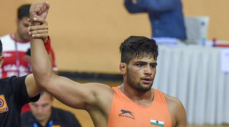 Wrestler Sajan Bhanwal enters the Final of Junior World Championship in Slovakia