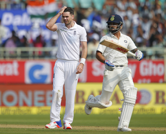 India reach 92 for two at lunch against England