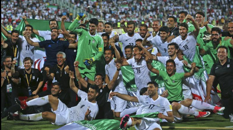 Iran book ticket to 2018 World Cup