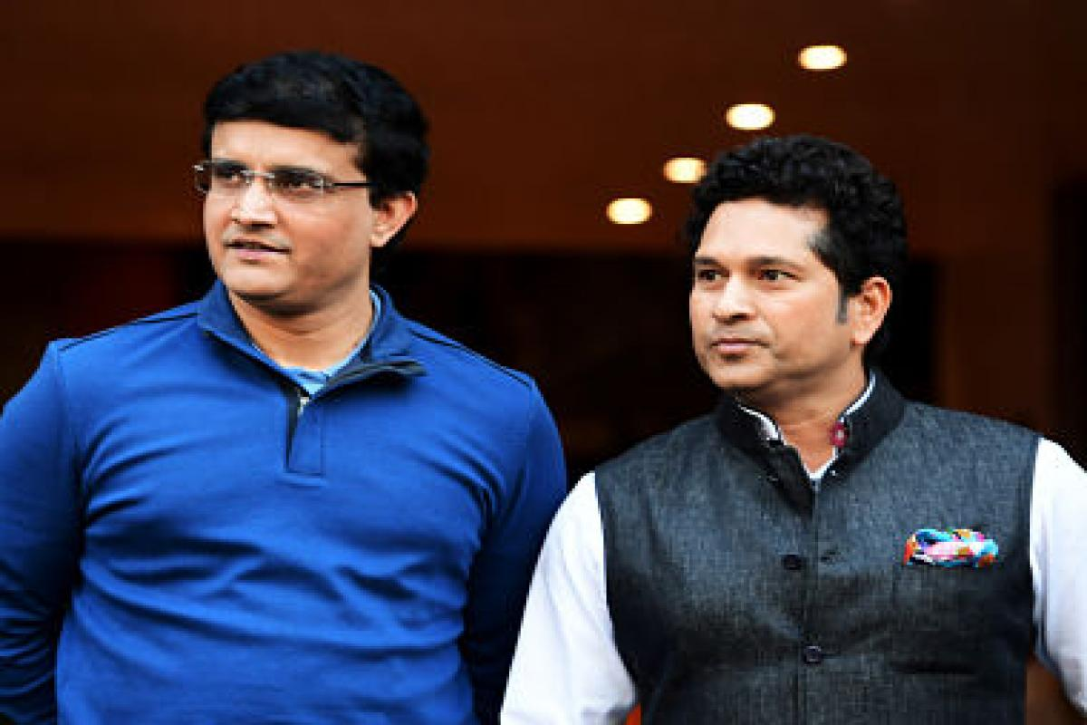 Sourav Ganguly strikes back again at Sachin Tendulkar