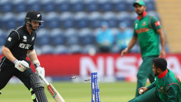 ICC Champions Trophy: Bangladesh restrict New Zealand to 265/8