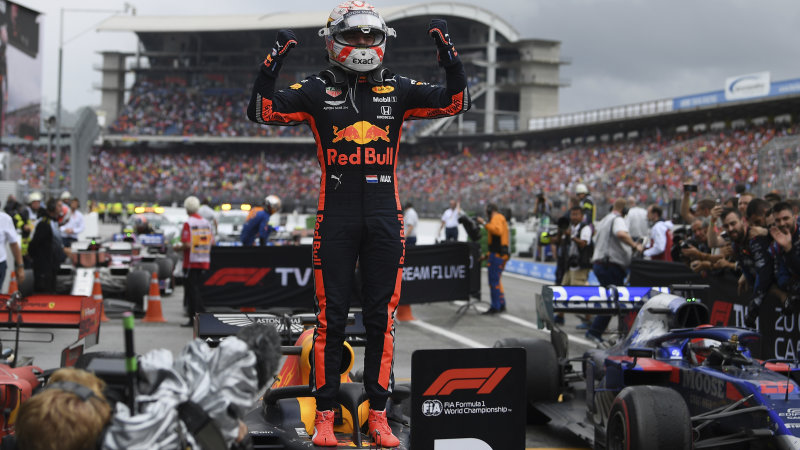 Max Verstappen clinches German Grand Prix