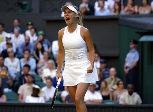 Wimbledon: Caroline Wozniacki, David Ferrer advance to second round