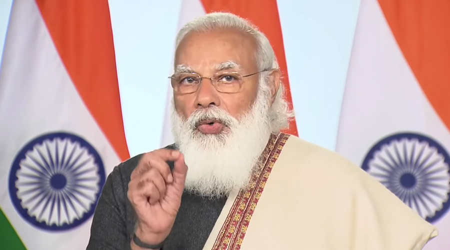 PM Modi asks Indian Paralympic contigent to work in few areas outside sports