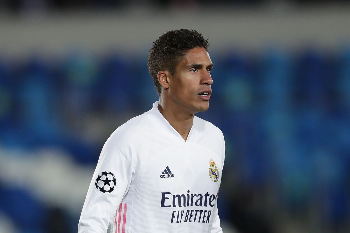 Raphael Varane tests positive for COVID-19, to miss Champions League game vs Liverpool