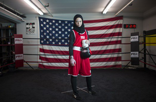 Muslim teen boxer in US wins right to fight in hijab