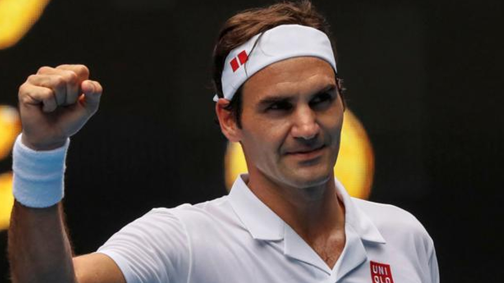 Roger Federer climbs to third in men