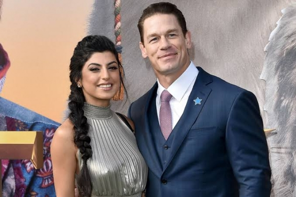 WWE Star John Cena married girlfriend Shay Shariatzadeh in a private ceremony in Florida