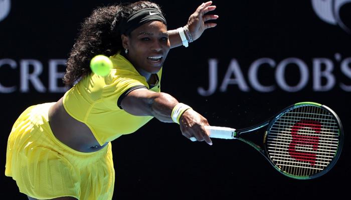 Serena enter second round of Australian Open